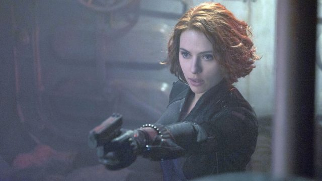 "Black Widow im MCU-Film ""Avengers: Age of Ultron""."