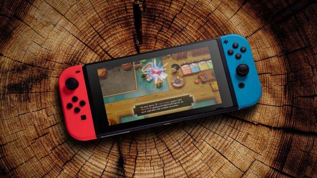 Das Nintendo-Switch-Spiel The Legend of Zelda: Link's Awakening zocken.