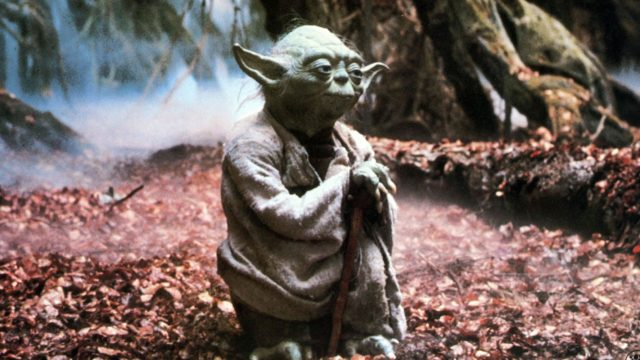 Yoda aus Star Wars Episode 5