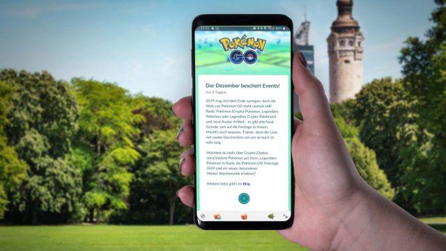 Pokémon Go: Events und Belohnungen im Dezember 2019