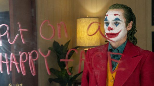"""Der für die Golden Globes nominierte Schauspieler Joaquin Phoenix in """"Joker""""."""