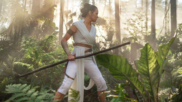 """Rey in """"Star Wars 9: Der Aufstieg Skywalkers""""."""
