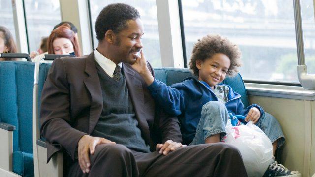 """Will Smith und Sohn in """"Das Streben nach Glück"""" in unseren sieben inspirierenden Filme. Foto: Sony Pictures"""