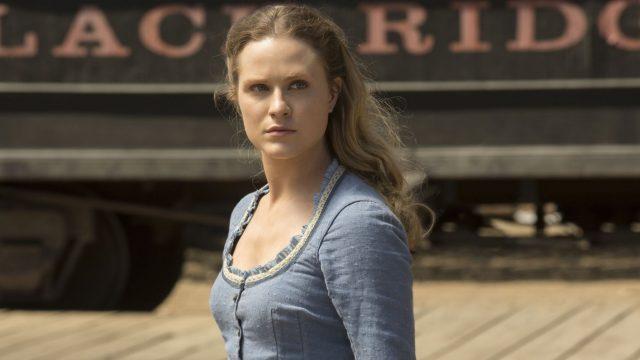 """Schauspielerin Evan Rachel Wood in der 1. Staffel von """"Westworld""""."""