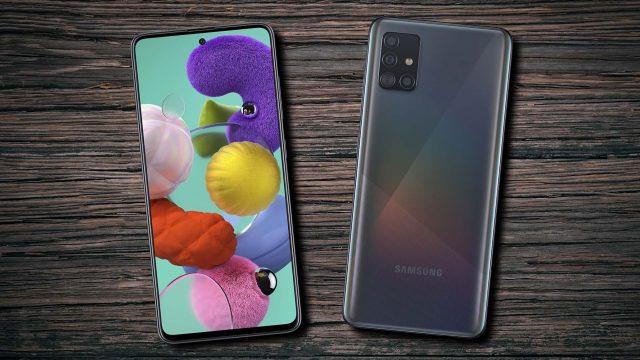 Samsung Galaxy A51 Vorderseite Rückseite DIsplay Kamera