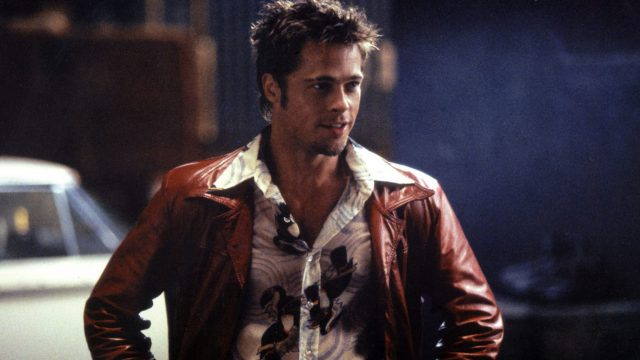 Brad Pitt in Filmszene aus Fight Club