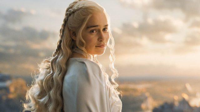 """Emilia Clarke als Daenerys Targaryen in """"Game of Thrones""""."""