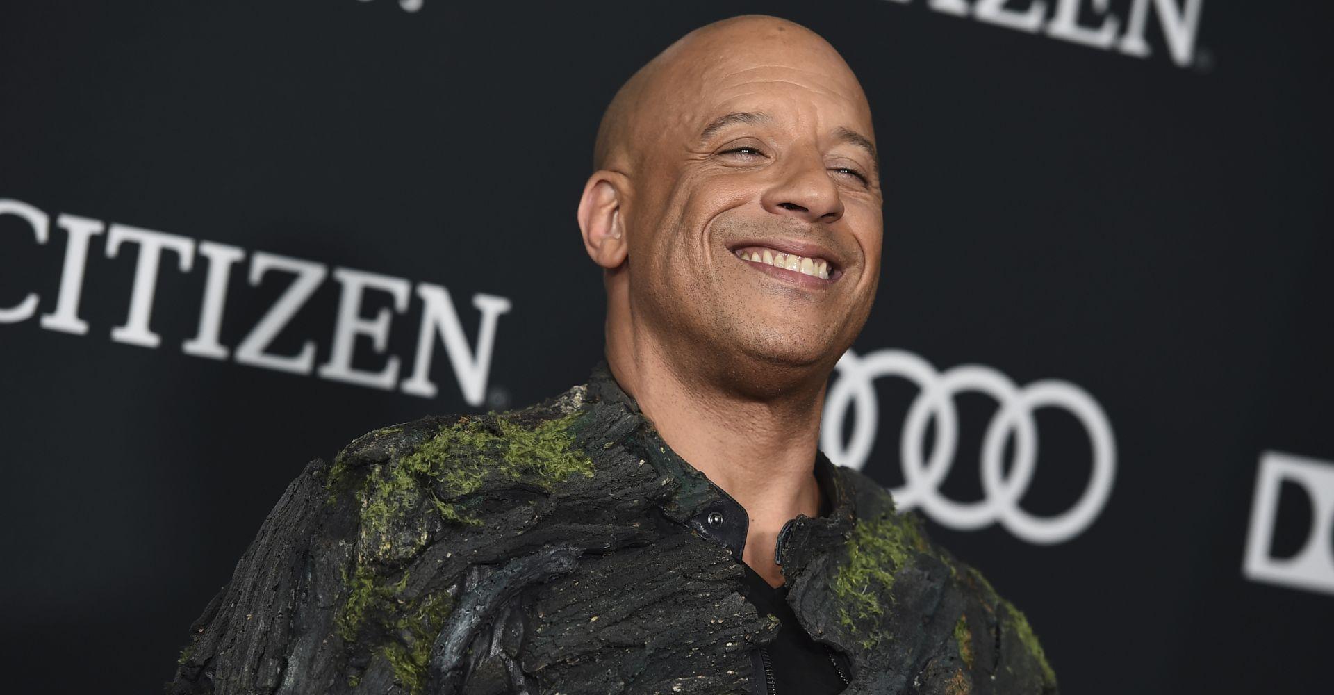 """""""Bloodshot""""-Star Vin Diesel bei einer Filmpremiere."""