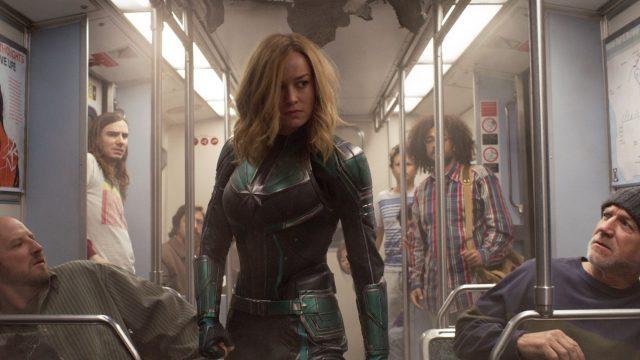 "Brie Larson als Captain Marvel in ""Captain Marvel""."