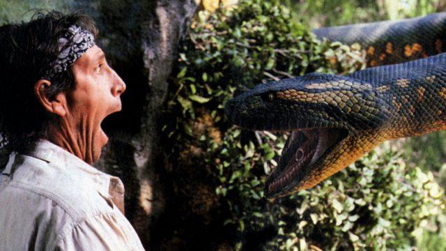 """Bild aus dem Horrorfilm """"Anaconda""""."""