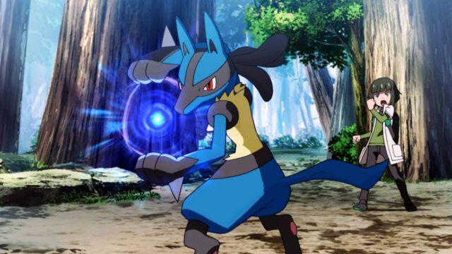 "Das Pokémon Lucario im Pokémon-Film ""I Choose You""."