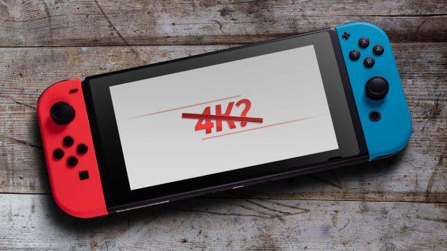 Nintendo Switch auf einem Holztisch