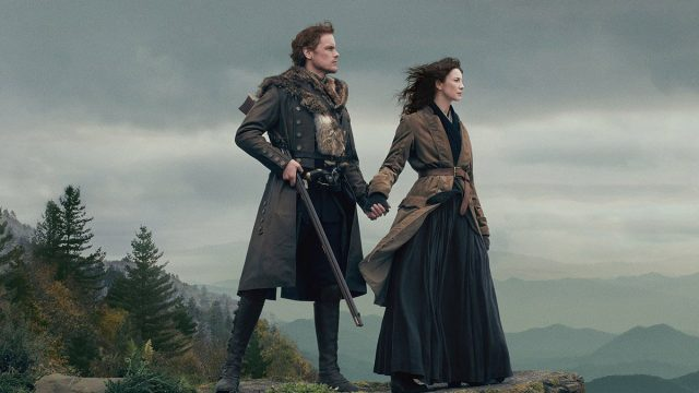 Caitriona Balfe und Sam Heughan in Outlander