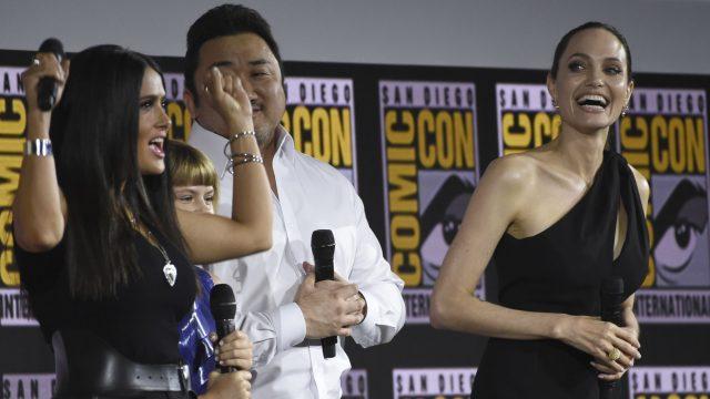 """Der Cast von """"Eternals"""" bei der San Diego Comic-Con 2019."""