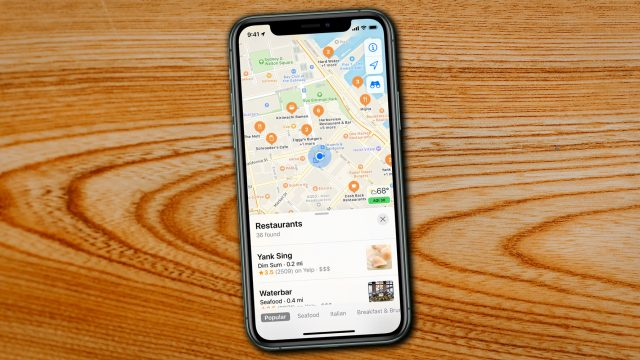 Apple Maps auf iPhone 11