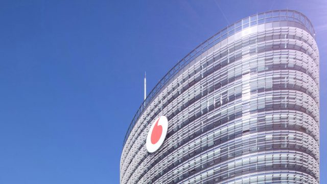 Bild von der Vodafone-Zentrale in Düsseldorf.