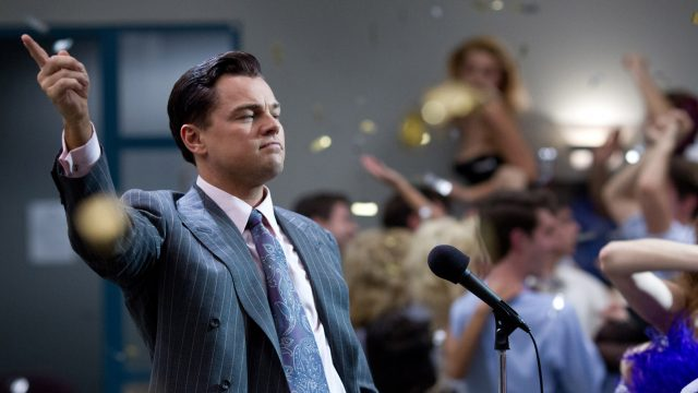 Wolf of Wall Stret DiCaprio