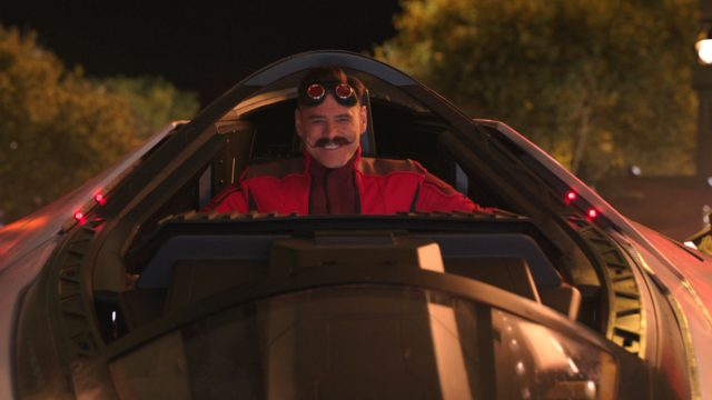 Jim Carrey in seiner Rolle als Doktor Robotnik.