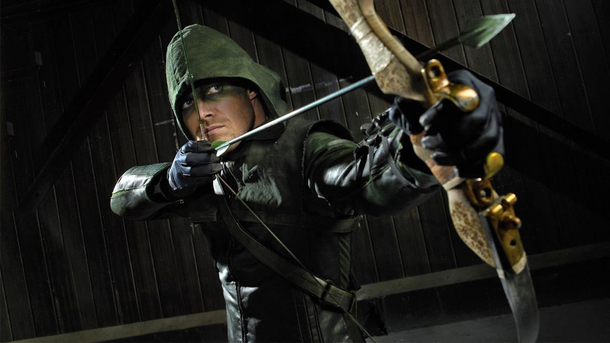 Stephen Amell in Arrow