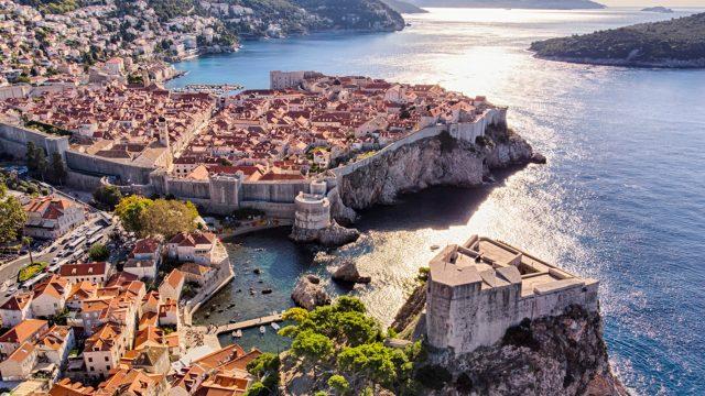 """Dubrovnik von oben in """"Bekannte Filmschauplätze"""""""