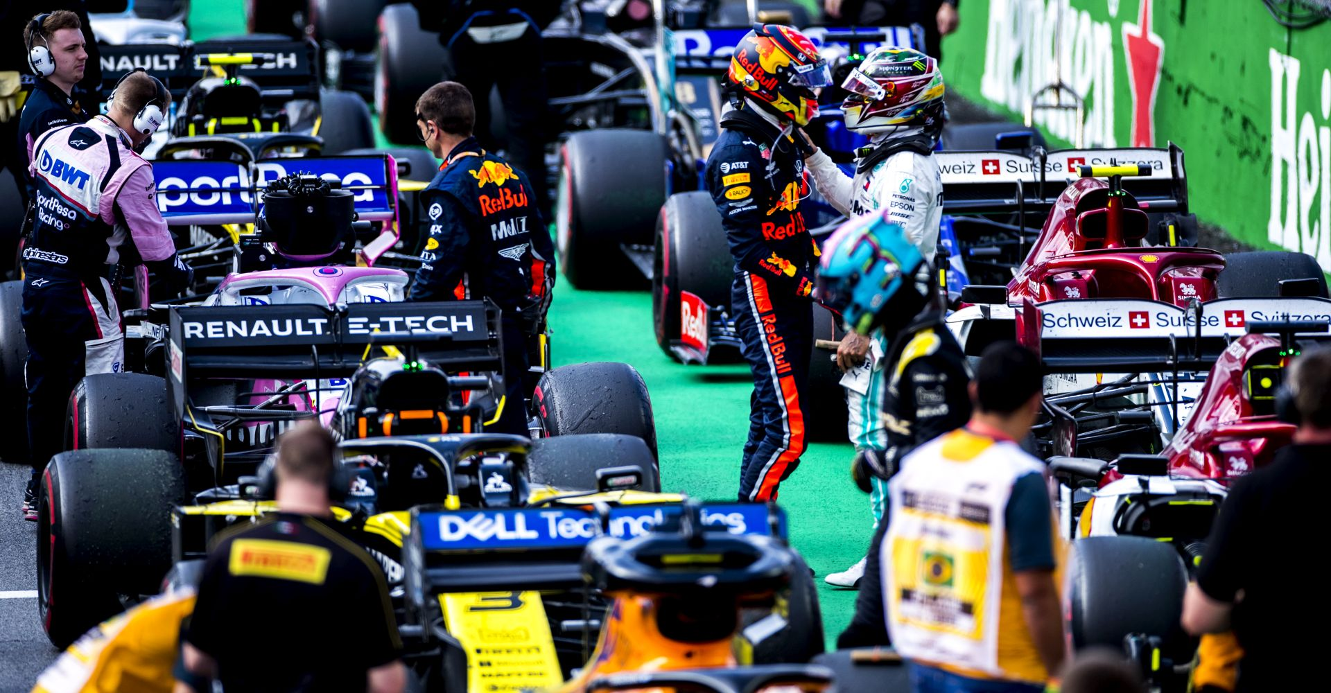 "Die F1-Saison-2019 in ""Formula 1: Drive To Survive""."