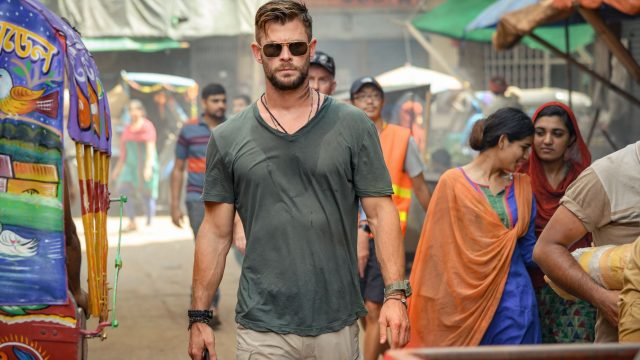 "Chris Hemsworth im Netflix-Actionfilm ""Extraction""."