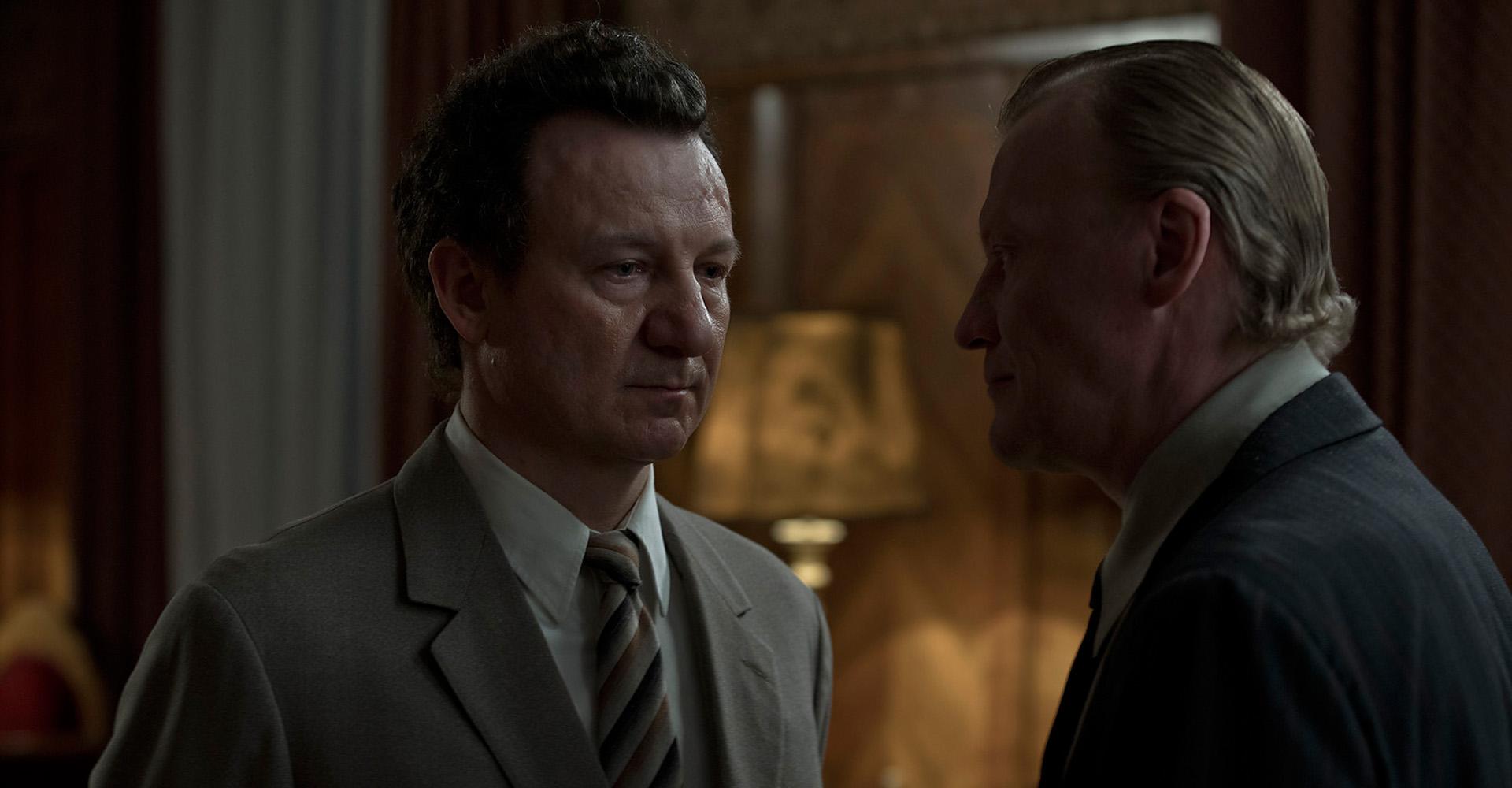 Aleksey Serebryakov und Robert Wieckiewicz in The Coldest Game