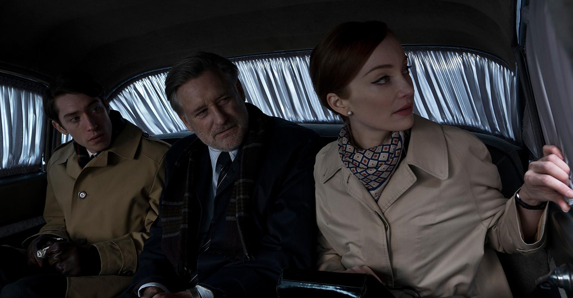 Lotte Verbeek, Bill Pullman und James Bloor in The Coldest Game