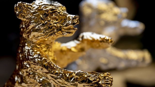 Der Goldene Bär der Berlinale.