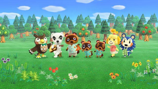 Nintendo-Artwork zu Animal Crossing: New Horizons.