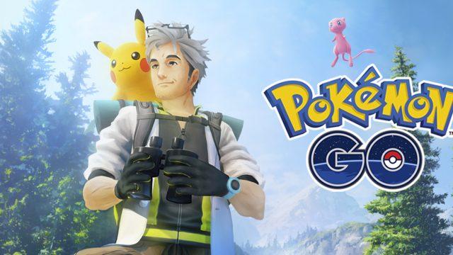 Pokemon Go Feld-Forschung