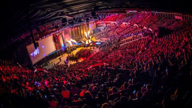 Die IEM Katowice startet am Donnerstag. Hier das Stadion in Katowice bei der IEM 2019. Foto: Helena Kristiansson