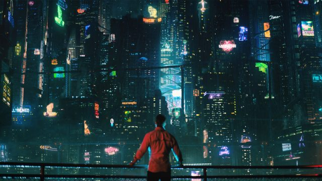 Altered Carbon Cyberpunk Stadt