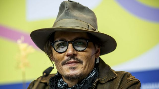Johnny Depp bei der Berlinale 2020.