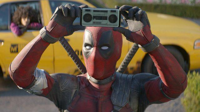 "Ryan Reynolds als Deadpool im Film ""Deadpool 2""."