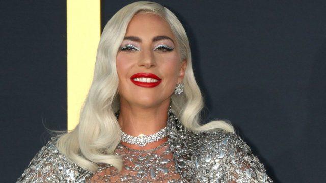 """Lady Gaga bei der Filmpremiere von """"A Star is Born""""."""