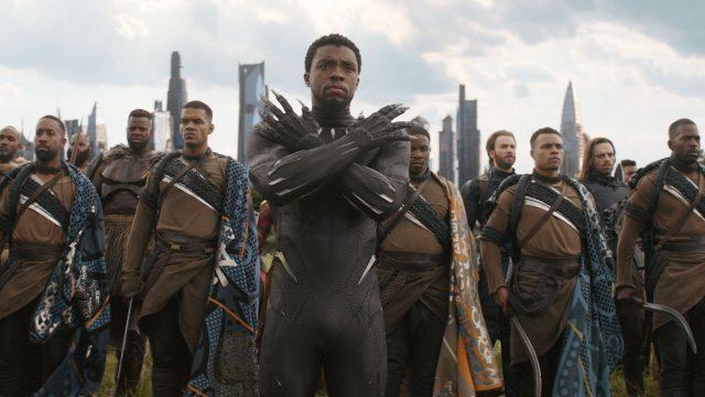"""Black Panther im MCU-Film """"Black Panther""""."""