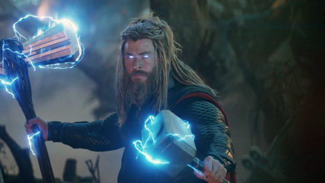 """Thor (Chris Hemsworth) im Film """"Avengers: Endgame""""."""