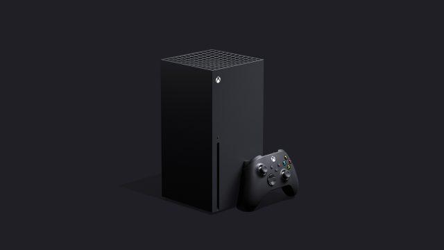 Die Xbox Series X von Microsoft.