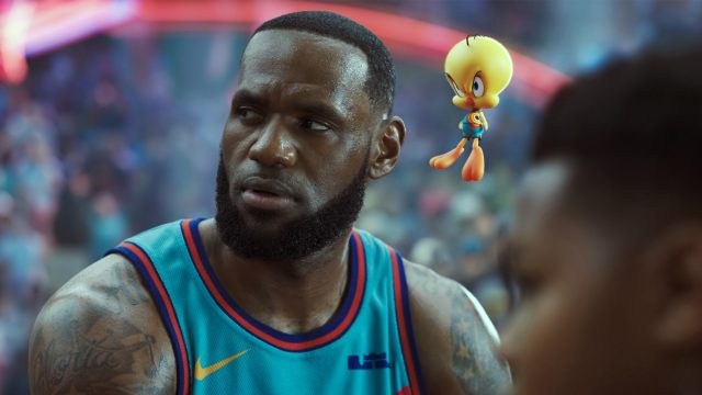 LeBron James in Space Jam 2
