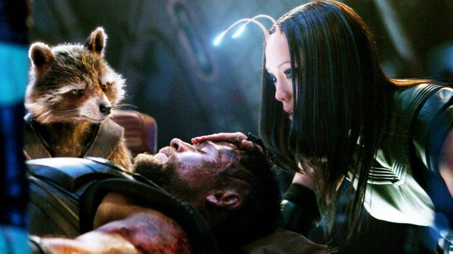 "Thor und die Guardians of the Galaxy in ""Thor 3""."
