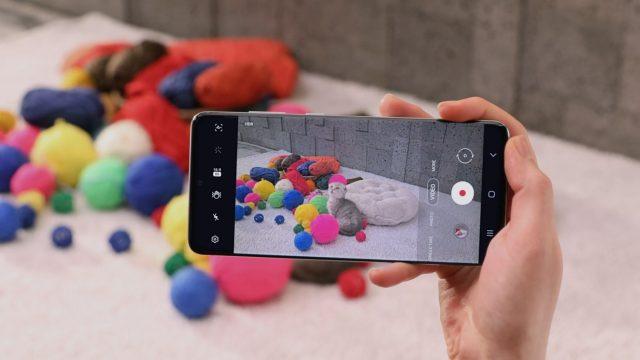 Die Kamera des Samsung Galaxy S20 Plus nutzen.