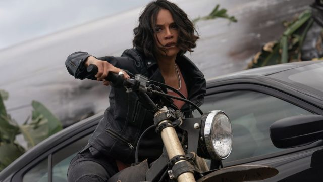 "Michelle Rodriguez in ""Fast & Furious 9""."