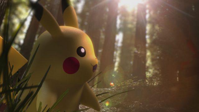 Pikachu aus Pokémon Go.