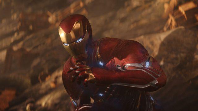 "Robert Downey Jr. als Iron Man in ""Avengers: Infinity War""."