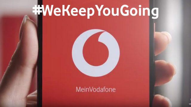 Vodafone ist auch jetzt digital erreichbar.