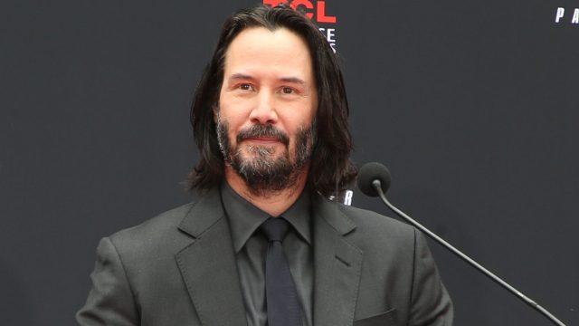 Filmstar Keanu Reeves bei einer Veranstaltung in Hollywood.