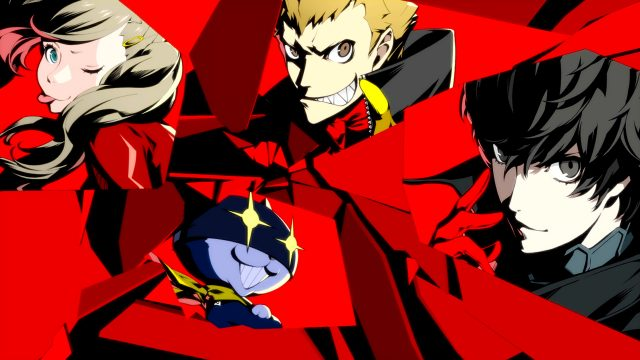 Artwork des Games Persona 5 Royal.