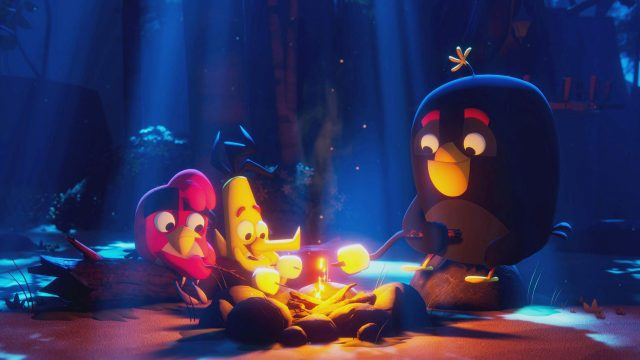 "Bild aus der Netflix-Animationsserie ""Angry Birds: Summer Madness""."