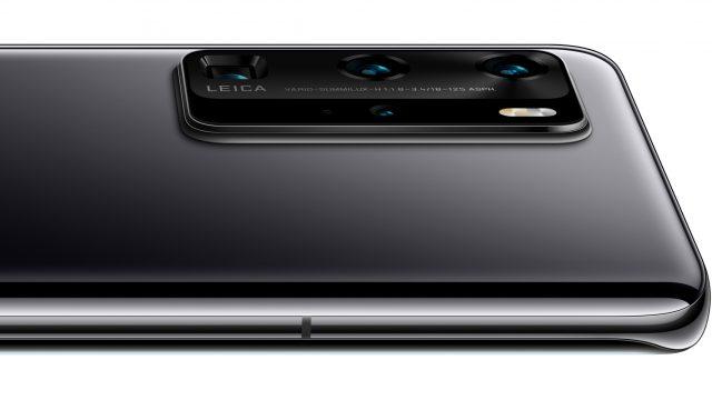 Huawei P40 Pro Leica-Kamera Rückseite mit Makro-Objektiven